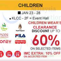 Read more about Isetan Children's Wear Clearance @ KLCC 23 - 28 Jan 2015