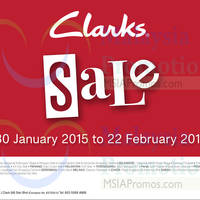 Read more about Clarks SALE 30 Jan - 22 Feb 2015