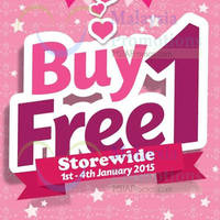 Read more about Etude House Buy 1 Get 1 FREE Promo @ Nationwide 1 - 4 Jan 2015