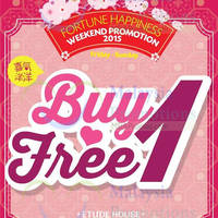Read more about Etude House Buy 1 Get 1 FREE Promo (Fri - Sun) 9 - 31 Jan 2015