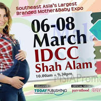 Read more about Mom & Baby Expo @ IDCC Shah Alam 6 - 8 Mar 2015