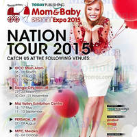 Read more about Mom & Baby Expo 2015 @ Persada Johor 7 - 9 Aug 2015