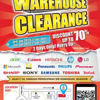 Read more about Senheng Warehouse Clearance @ Seri Kembangan 3 - 4 Jan 2015
