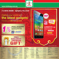 Read more about Senheng Smartphones, Digital Cameras & Other Offers 1 - 28 Feb 2015