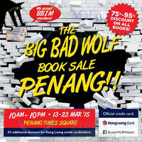 Read more about Big Bad Wolf Books Sale @ Penang Times Square 13 - 23 Mar 2015