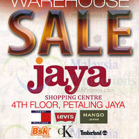 Read more about Big Brand Fashion Branded Apparel Warehouse Sale @ Jaya Shopping Centre 12 - 15 Feb 2015