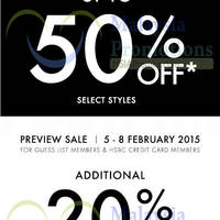 Read more about Guess Sale From 5 Feb 2015