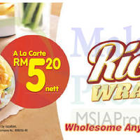 Read more about KFC New Zinger Rice Wrap 5 Mar 2015