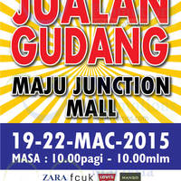 Read more about Big Brand Fashion Branded Apparel Warehouse Sale @ Maju Junction 19 - 22 Mar 2015