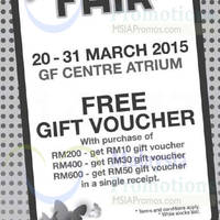 Read more about Bonia Group Spring Fair @ KL Sogo 20 - 31 Mar 2015