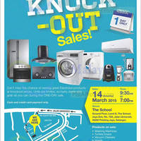 Read more about Electrolux Warehouse Sale Totally Knock Out Sale @ Jaya One Petaling Jaya 14 Mar 2015