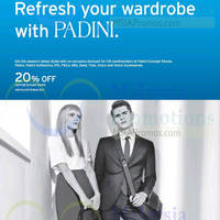 Read more about Padini 20% Off Storewide For Citibank Cardmembers 9 - 29 Mar 2015