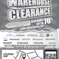 Read more about Senheng Warehouse Clearance @ Kota Kemuning 28 - 29 Mar 2015