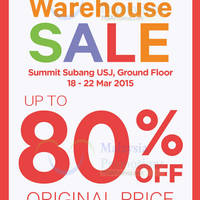 Read more about Stride Rite Warehouse SALE @ Summit Subang USJ 18 - 22 Mar 2015