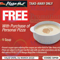 Read more about Pizza Hut NEW Dine-In, Delivery, Online & Takeaway Coupons 16 - 31 Mar 2015