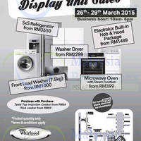 Read more about Electrolux Warehouse & Display Unit Sale @ Subang Jaya 26 - 29 Mar 2015