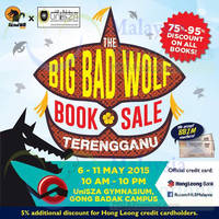 Read more about Big Bad Wolf Books Sale @ Terengganu 6 - 11 May 2015