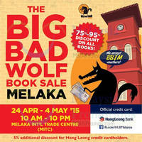 Read more about Big Bad Wolf Books Sale @ MITC 24 Apr - 4 May 2015