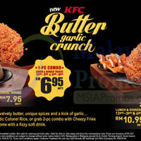 Read more about KFC New Butter Garlic Crunch Chicken & Burger 23 Apr 2015