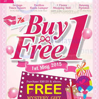 Read more about Etude House Buy 1 FREE 1 @ Nationwide 1 - 31 May 2015