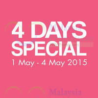 Read more about Padini Holdings 4 Days Special Sale 1 - 4 May 2015