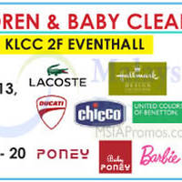 Read more about Isetan Children & Baby Clearance @ KLCC 8 - 13 May 2015
