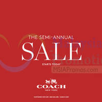 Read more about Coach Semi-Annual SALE 12 May 2015