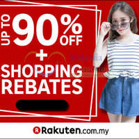 Read more about Rakuten RM10 Off RM20 Spend Storewide Coupon Code 9 - 10 Jan 2016