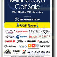 Read more about Transview Kelana Jaya Golf Sale 18 - 24 May 2015