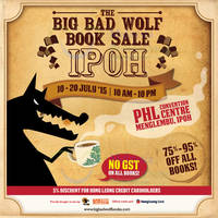 Read more about Big Bad Wolf Book Sale Expo @ PHL Convention Centre Ipoh 10 - 20 Jul 2015
