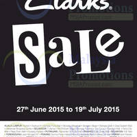 Read more about Clarks SALE 27 Jun - 19 Jul 2015