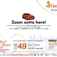 Read more about Firefly From RM49 Domestic Destinations Promo 29 Jun - 12 Jul 2015