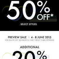 Read more about Guess & Guess Kids Sale 6 Jun 2015