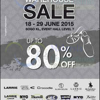 Read more about Larrie Warehouse Sale @ KL Sogo 18 - 29 Jun 2015