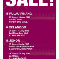 Read more about Parkson Warehouse Sale @ Holiday Plaza 22 Jun - 14 Jul 2015