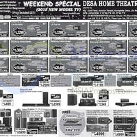 Read more about Desa Home Theatre Audio Visual TVs, HiFi & Other Offers 20 Jun 2015