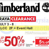 Read more about Timberland Raya Clearance @ KLCC 3 - 8 Jul 2015