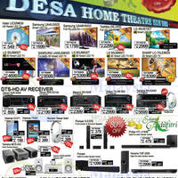 Read more about Desa Home Theatre Audio Visual TVs, HiFi & Other Offers 17 - 19 Jul 2015