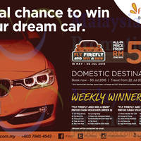 Read more about Firefly From RM59 Domestic Destinations Promo 22 - 30 Jul 2015