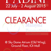 Read more about Padini Clearance Sale @ IOI Mall 22 Jul - 2 Aug 2015
