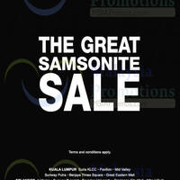 Read more about Samsonite SALE 2 Jul 2015