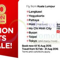 Read more about Air Asia fr RM3 3 Million Seats Sale 11 - 16 Aug 2015