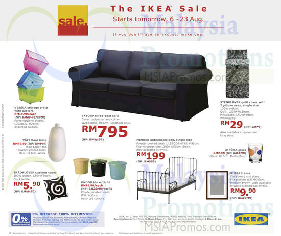 Ikea feb 2016 for Sofa bed ikea malaysia
