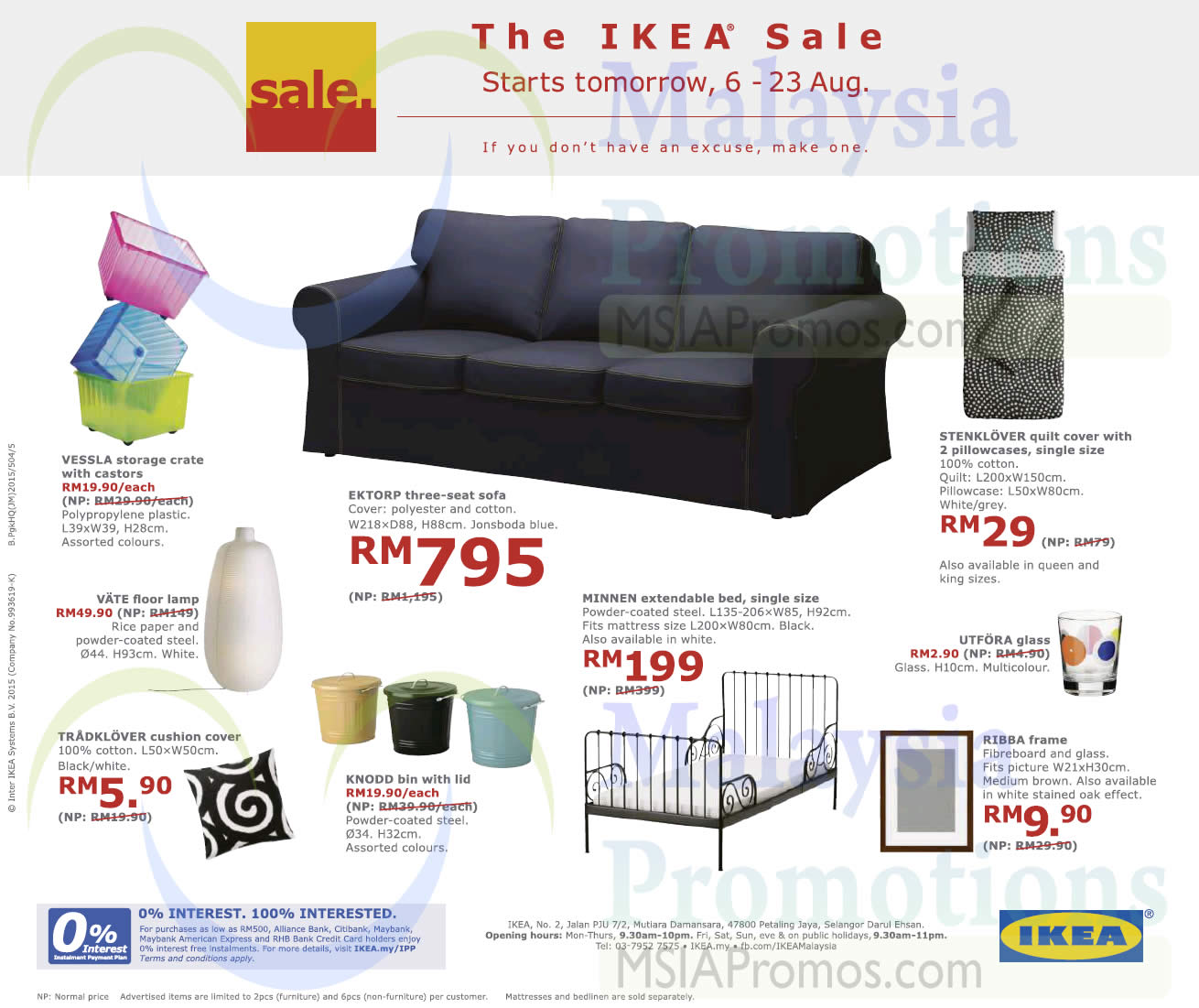 IKEA Sale 5   23 Aug 2015 UPDATED 6 Aug 2015. Page 3   IKEA  Aug 2017    MSIAPromos com