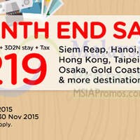 Read more about Air Asia Go fr RM219 3D2N Stay + Flights + Taxes Promo 24 - 31 Aug 2015