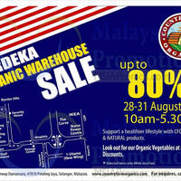 Read more about Country Farm Organics Warehouse Sale @ Petaling Jaya 28 - 31 Aug 2015