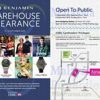 Read more about FJ Benjamin Warehouse Clearance @ Atria Shopping Gallery 5 - 6 Sep 2015