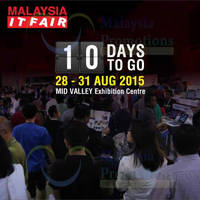 Read more about Malaysia IT Fair @ Mid Valley Exhibition Centre 28 - 31 Aug 2015