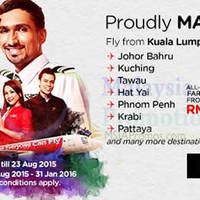 Read more about Air Asia fr RM39 Promo Fares 17 - 23 Aug 2015