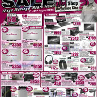 Read more about Harvey Norman Notebooks, TVs, Furniture & Other Offers 1 - 7 Aug 2015